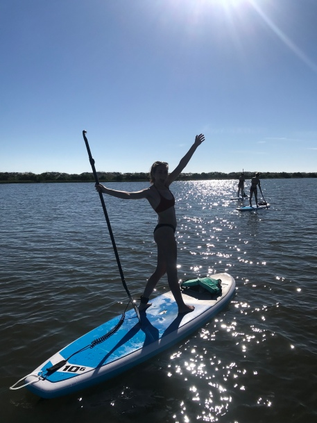 paddle board St Augustine lessons