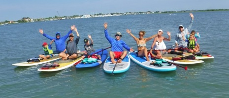 St Augustine Stand Up Paddle Fun!